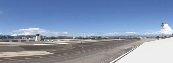 Northward view at Santa Monica Airport. Imagine this a park.