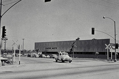 The Paper Mate plant back in the day. (Photo credit: Santa Monica Public Library Image Archive_