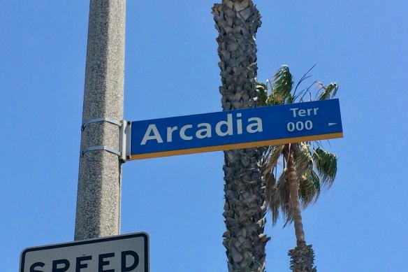 Arcadia Terrace sign